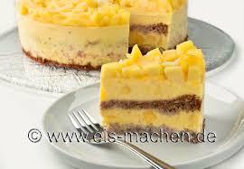 eis rezept mango joghurt sahne torte selber machen ohne