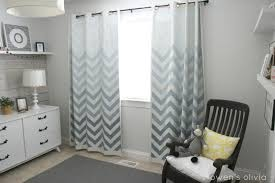 captivating gray and white chevron curtains and gray white sheer