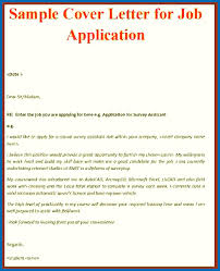 Cover Letter Writing Format Employment Sample
