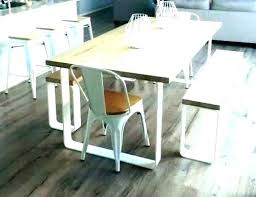 Bench Dining Table Wood With Wooden Room Seat Oak Seating Kitchen Benches Set