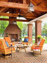 Outdoor Fireplace Ideas Patio Block Plans The Minimalist