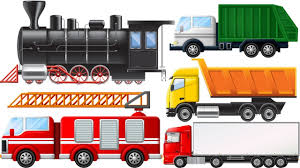100 Garbage Trucks For Kids For Kids New Learn Name And Sounds Fire Truck Semi Truck
