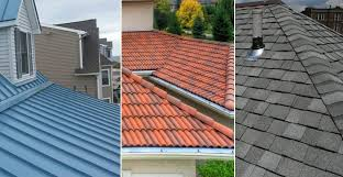 metal roofing vs roof shingles vs roof tiles vs slate roof