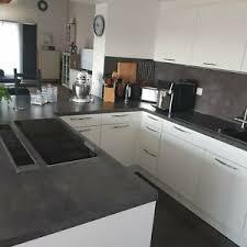 beton weiß küche esszimmer ebay kleinanzeigen