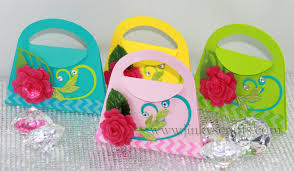 jinky u0027s crafts u0026 designs spring mini purses invites