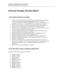 Awesome Collection Of Food Service Resume Description Wonderful