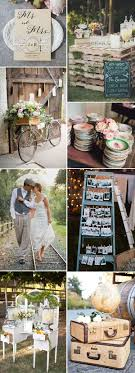 Casual And Small Backyard Vintage Wedding Theme Ideas