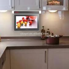 tv dans cuisine 19 pouce tv pour cuisine fumée prévention mini tv téléviseur