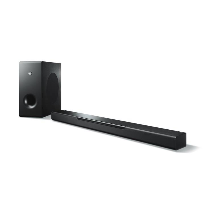 Yamaha Black Musiccast 400 Soundbar - With Wireless Sub