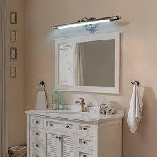 led spiegelle retro spiegelleuchte antik metall schminklicht vintage spiegelbeleuchtung acryl spiegellicht badezimmer schlafzimmer spiegelschrank