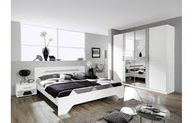 schlafzimmer rubi alpinweiß alufarbig poco