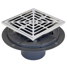 Sioux Chief Floor Drain Replacement Strainer by Shop Sioux Chief 6 5 In Chrome Plastic Floor Drain At Lowes Com