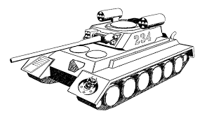 Coloring Pages Kids Tank Page For