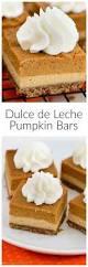 Pumpkin Layer Cheesecake by Dulce De Leche Pumpkin Bars Baked By An Introvert