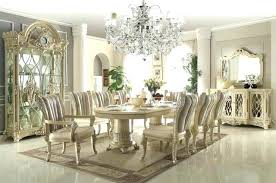 White Formal Dining Room Sets Tables With