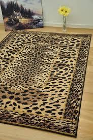 bedroom 27 best leopard print area rug images on pinterest