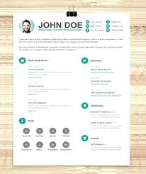 Fun Resume Templates Simple Resume Template Vol 6 Awesome Resume