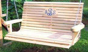 Porch Swing Cushions 60 Inch Daybeds Wonderful Traditional Bench