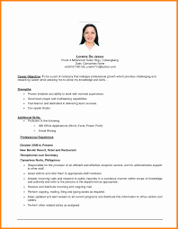 Best Objective Forsume Sample Career Objectives Nursesfrence In Hrm Of