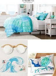 Blue Tie Dye Bedding by Summer Lookbook Pbteen