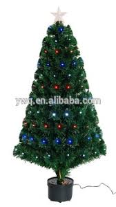 21m Christmas Tree With Optical Fiber Light Led Spiral Lighted Walmart