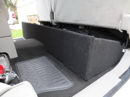 SilveradoSierra.com • How To Build A Under Seat Storage Box : How ... Polk Audio System Sound Logic Photo Image Gallery C1500c07a Thunderform Chevrolet Crew Cab Amplified Subwoofer Slim Truck Box Pictures How To Build A Box For 4 8 Subwoofers In Silverado Youtube Ford Ranger Regular 31997 Custom 1988 To 1998 Chevrolet Extended Cab Dual Box By Sound Off Audio German Specialties Bmw Car And The Award Most Creative Enclosure Design Chevy Ck Ext 8898 Dual 12 Sub Bass 10 Sealed Woofer Stereo Speaker Amazoncom Audiobahn Torq Tq10df 1200w Shallow