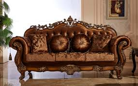 Claremore Antique Sofa And Loveseat by Meridian Furniture Living Room Collection Fabric Living Room Sets