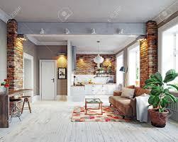 100 Scandinavian Design Modern Apartment Interior Style Design 3d Rendering