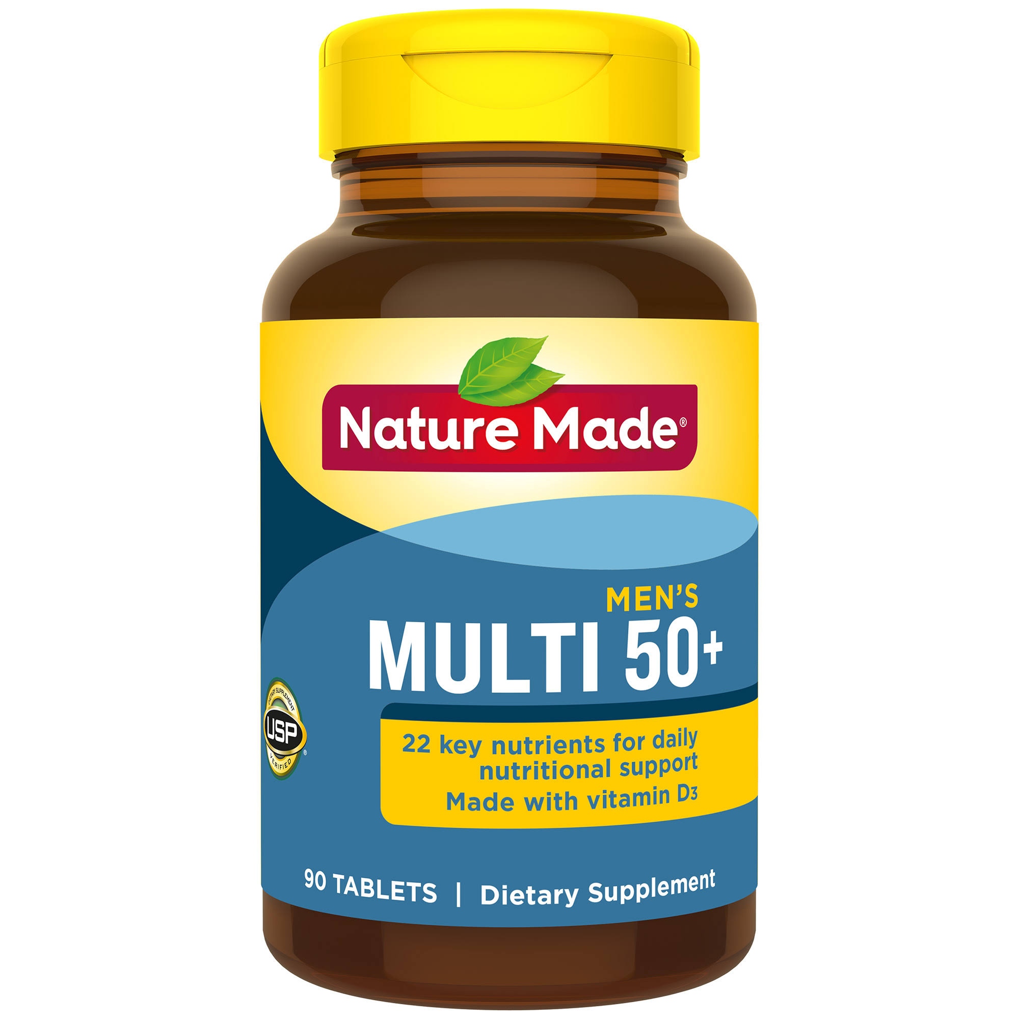 Nature Made Multi For Him 50+ Vitamin And Mineral Supplement - 90ct