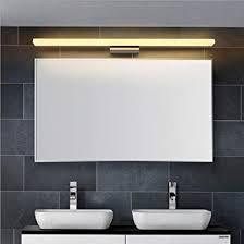 biutefang 16w led spiegelleuchten schrankle ac85 265v moderne wasserdicht ip44 badbeleuchtung wandleuchte warmweiß 120cm