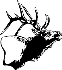 100 Hunting Decals For Trucks Elk Decal WL104 Wildlife Outdoors Stickers Wildlife Decal