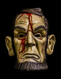 The Purge Mask Halloween Express by Lincoln Mask With Blood Purge Election Year Inspired