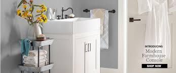 Pottery Barn Sea Glass Bathroom Accessories by Bathroom Furniture U0026 Decor Pottery Barn