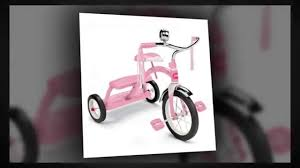 pink radio flyer tricycle radio flyer girls classic pink dual deck