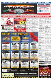 American Classifieds Abilene 12-10-15 By American Classifieds ... Used Cars Abilene Tx 1920 New Car Design Craigslist Lexus 2019 20 Release Date Seattle And Trucks By Owner And Lawrence Hall Best Truck Resource Sf For Sale Texas Amarillo Alburque Dealers Near Houston Okc