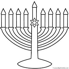 Menorah With Happy Hanukkah
