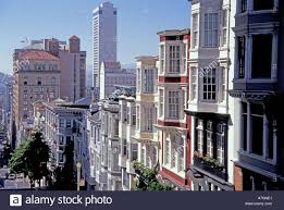 Knob Hill San Francisco Usa California San Francisco Nob Hill View