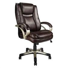 realspace btec 600 big tall executive high back chair brown