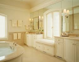 crema marfil marble bathroom traditional with tile shower
