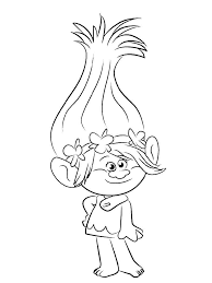 Trolls Coloring Pages 13