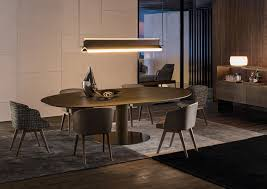 100 Minotti Dining Table Bellagio Wood