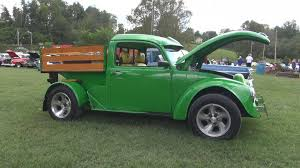 John Deere Themed 1970 VW Beetle Truck Conversion - YouTube