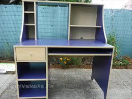 bureau bleu ikea bureau ikea bleu courdemanche 72150 ameublement
