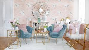mermaid dreams wohnzimmer lounge in rosa türkisblau looks