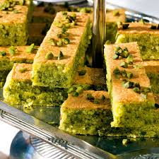 pistazien mandel kuchen