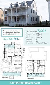 Plantation House Plan 73702