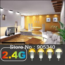2 4g smart phone e27 6w wifi led bulbs light led color