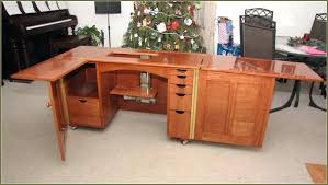 Horn Sewing Cabinets Second Hand by Used Sewing Machine Table Gallery Table Design Ideas