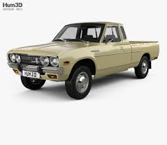 100 Datsun Truck 620 King Cab 1977 3D Model