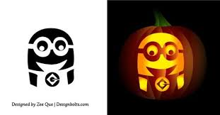 Easy Rainbow Dash Pumpkin Stencil by Minion Pumpkin Carving Stencil Car Pictures Halloween